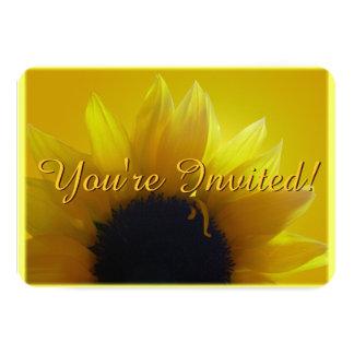 Sonnenblume-Einladung personifizieren Blume UAWG 8,9 X 12,7 Cm Einladungskarte