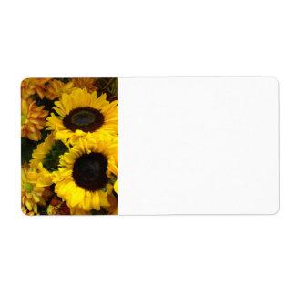 Sonnenblume-Fall-Blumen