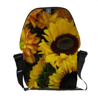 Sonnenblume-Fall-Blumen Kuriertasche