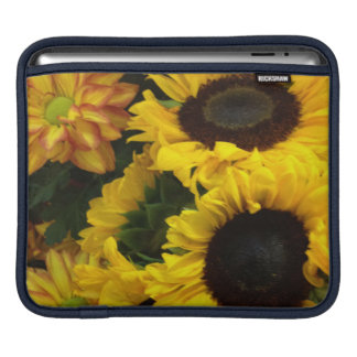 Sonnenblume-Fall-Blumen Sleeve Für iPads