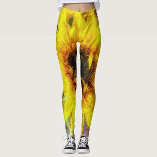 Sonnenblume-Flair Leggings