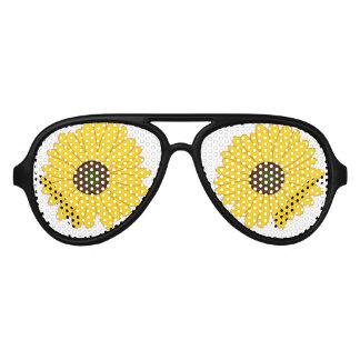Sonnenblume für Sonnenbrillen Party schattiert