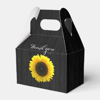Sonnenblume-Gastgeschenk Hochzeitskasten Geschenkkarton