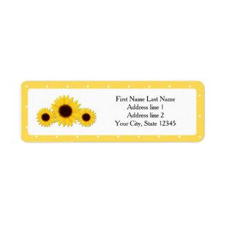 Sonnenblume-gelbes Land-rustikale