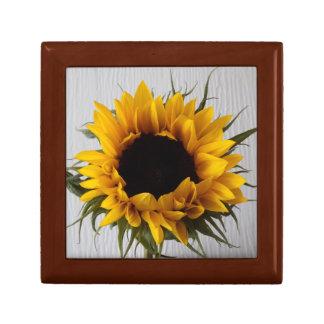Sonnenblume-Geschenkboxen Erinnerungskiste
