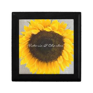 Sonnenblume-Geschenke Geschenkbox