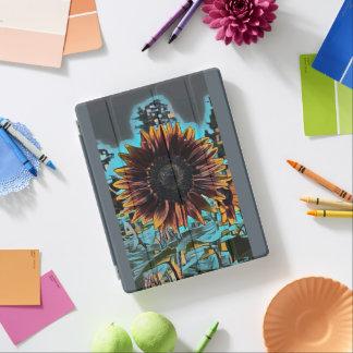 Sonnenblume-Grafikdesign iPad Hülle
