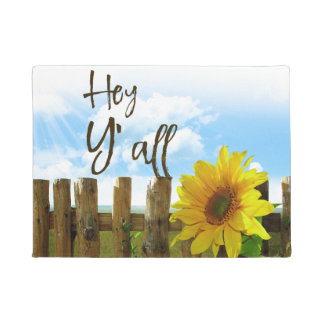 Sonnenblume he Sie Doormat