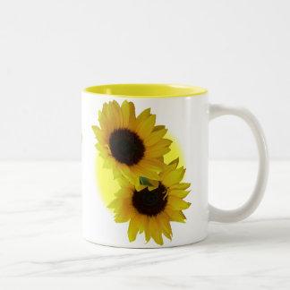 Sonnenblume höhlt Tassen-sonnige gelbe Sonnenblume