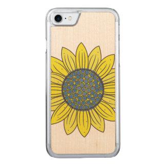 Sonnenblume-Illustration Carved iPhone 8/7 Hülle