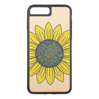 Sonnenblume-Illustration Carved iPhone 8 Plus/7 Plus Hülle