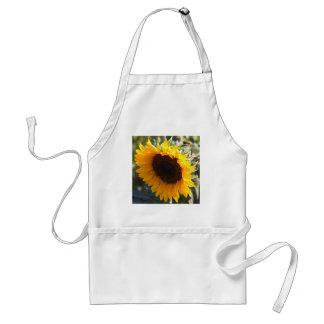 Sonnenblume im August Schürze