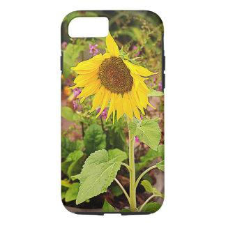 Sonnenblume im Garten iPhone 8/7 Hülle