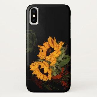 Sonnenblume iPhone X Hülle