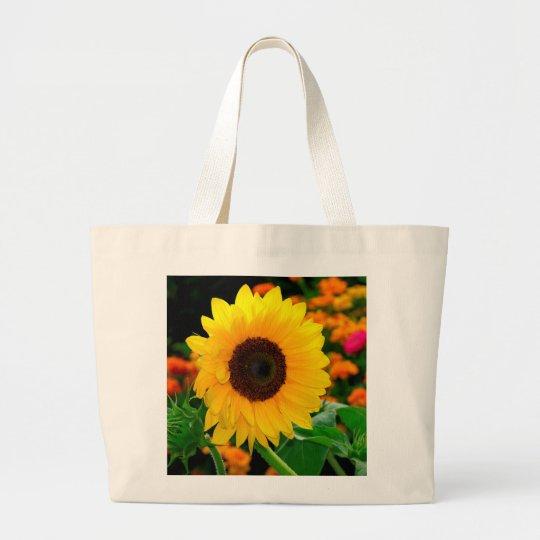 Sonnenblume Jumbo Stoffbeutel