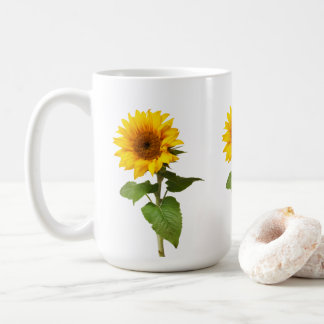 Sonnenblume-Kaffee-Tasse Kaffeetasse