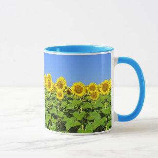 Sonnenblume-Kaffeetasse Tasse