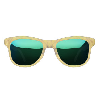 Sonnenblume-Kaleidoskop Brille