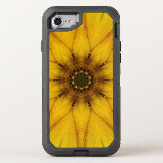 Sonnenblume-Kaleidoskop OtterBox Defender iPhone 8/7 Hülle