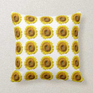 Sonnenblume-Kissen - kundengerechter Muster-Druck Kissen