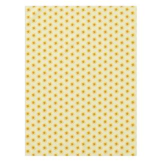 Sonnenblume-kleiden gelbe TAN-Tabelle Tischdecke