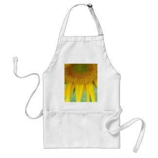 Sonnenblume-Kleidung für Erwachsene und Kinder Schürze