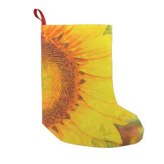 Sonnenblume Kleiner Weihnachtsstrumpf
