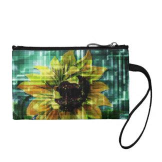 Sonnenblume Kleingeldbörse