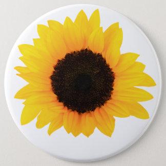Sonnenblume-Knopf, kolossaler Knopf, runder Knopf Runder Button 15,3 Cm