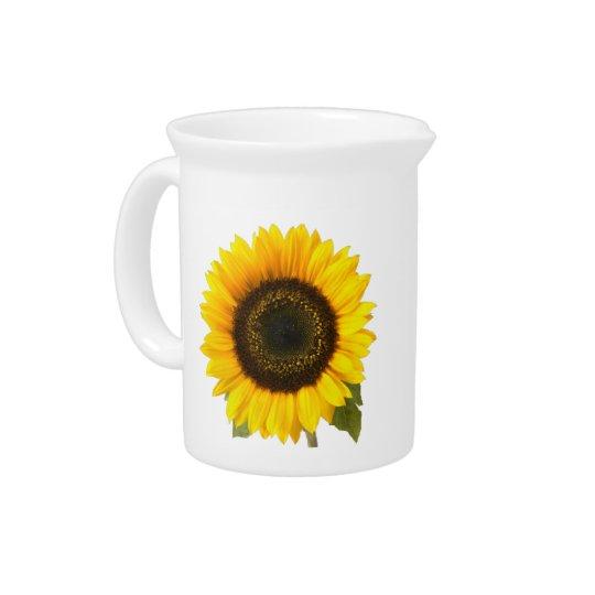 Sonnenblume-Krüge 19oz. Getränke Pitcher