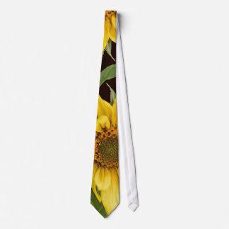 Sonnenblume-Kunst-Krawatte Krawatten