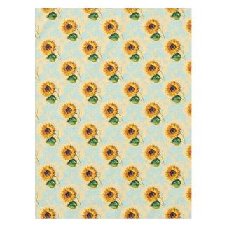 Sonnenblume-Kunst Tischdecke