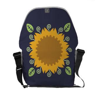 Sonnenblume Kuriertasche