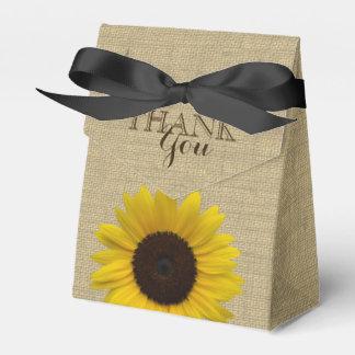 Sonnenblume-Land-Leinwand-Druck Geschenkschachteln