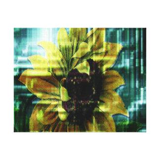 Sonnenblume Leinwanddruck