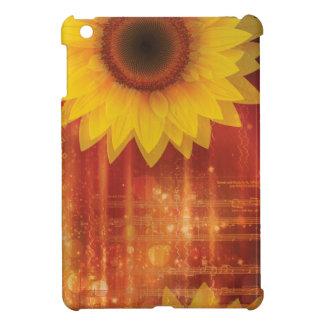Sonnenblume, Liebe und Glück iPad Mini Hülle