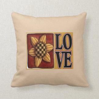 Sonnenblume-Liebeland Throwkissen Kissen