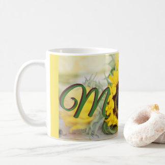 Sonnenblume-Mamma Kaffeetasse