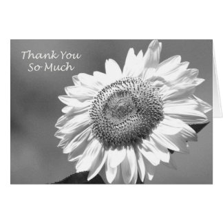 Sonnenblume-Matrone der Ehre danken Ihnen zu Karte