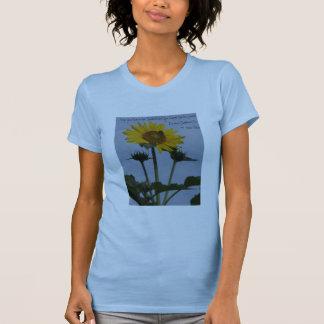 Sonnenblume mit Bienen T-Shirt