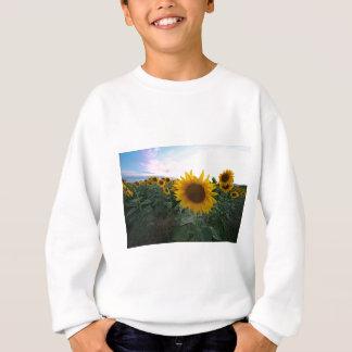Sonnenblume-Nahaufnahme Sweatshirt