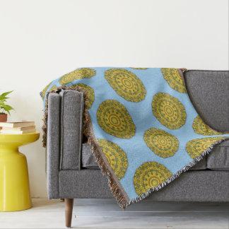 Sonnenblume-Natur, Blume-Mandala 007 07,1 Decke
