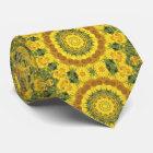 Sonnenblume-Natur, Blume-Mandala (Blumen-Mandala) Krawatte
