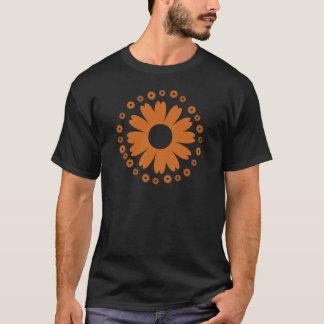 Sonnenblume-orange T-Shirt