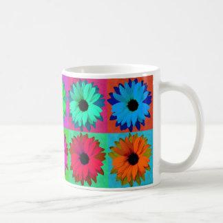 Sonnenblume-Pop-Kunst - Tasse
