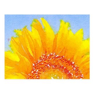 Sonnenblume! Postkarte