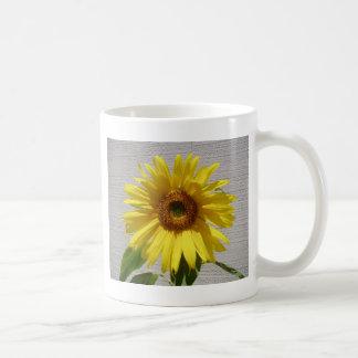 Sonnenblume-Power! Kaffeetasse