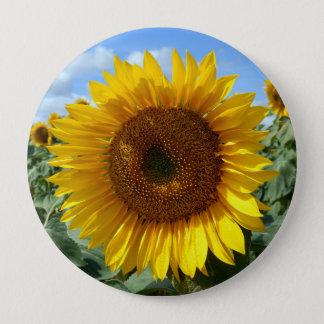 Sonnenblume-Riese-Abzeichen Runder Button 10,2 Cm