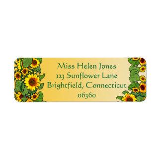 Sonnenblume-Rolle