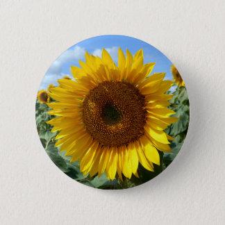 Sonnenblume-rundes Abzeichen Runder Button 5,7 Cm
